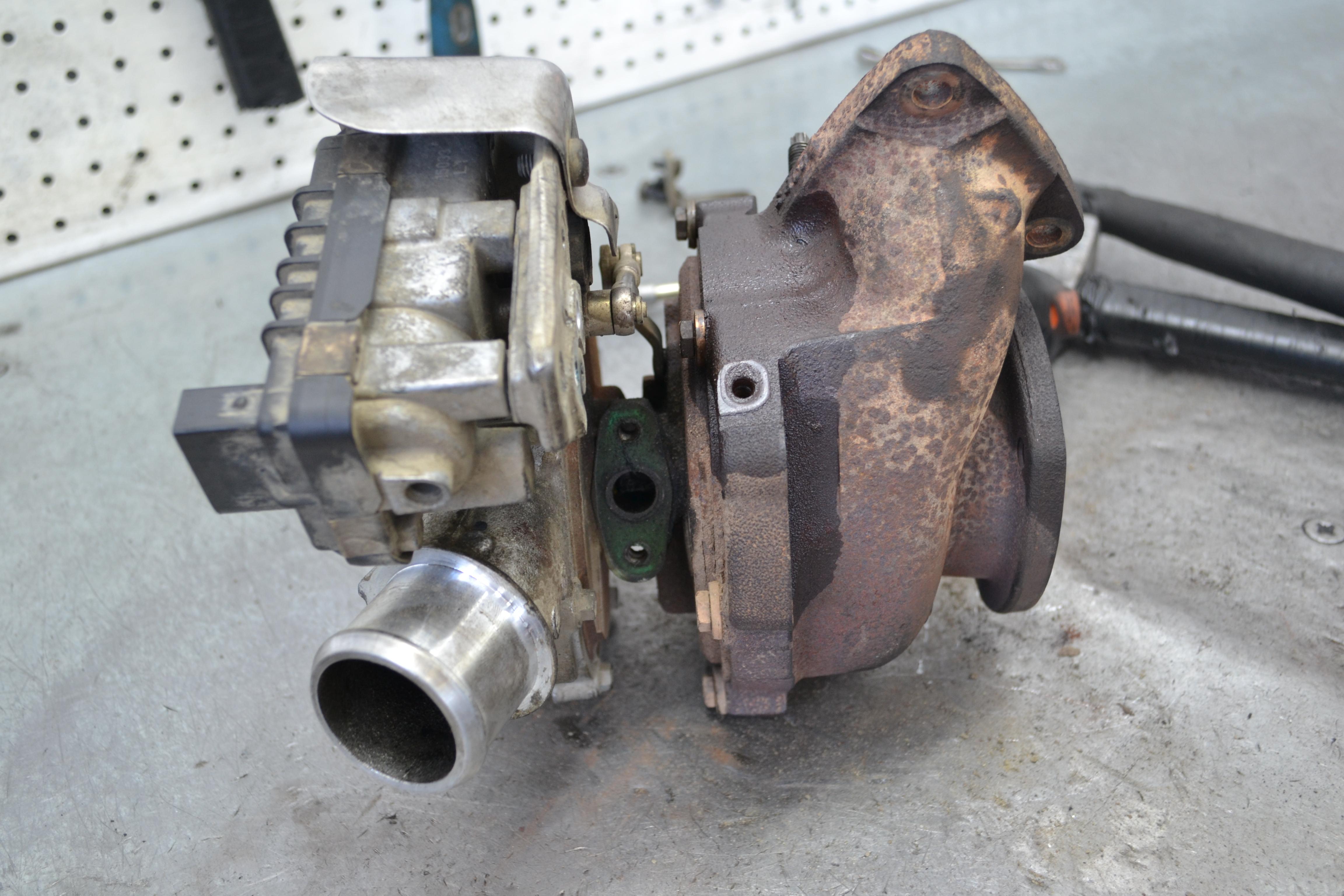 Ford Ranger, форд ренджер, турбина