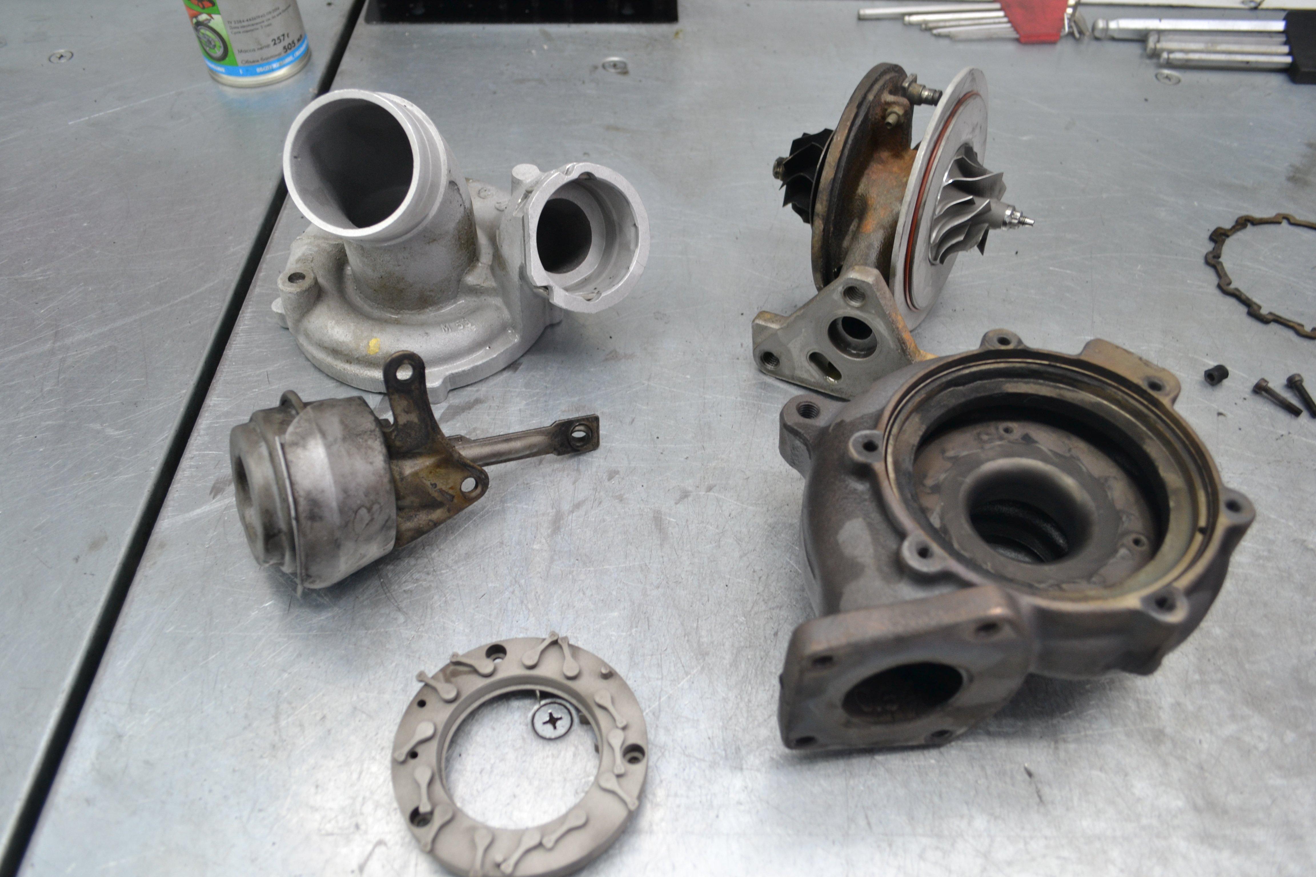Volkswagen Touareg, туарег, ремонт турбины, 716885-4