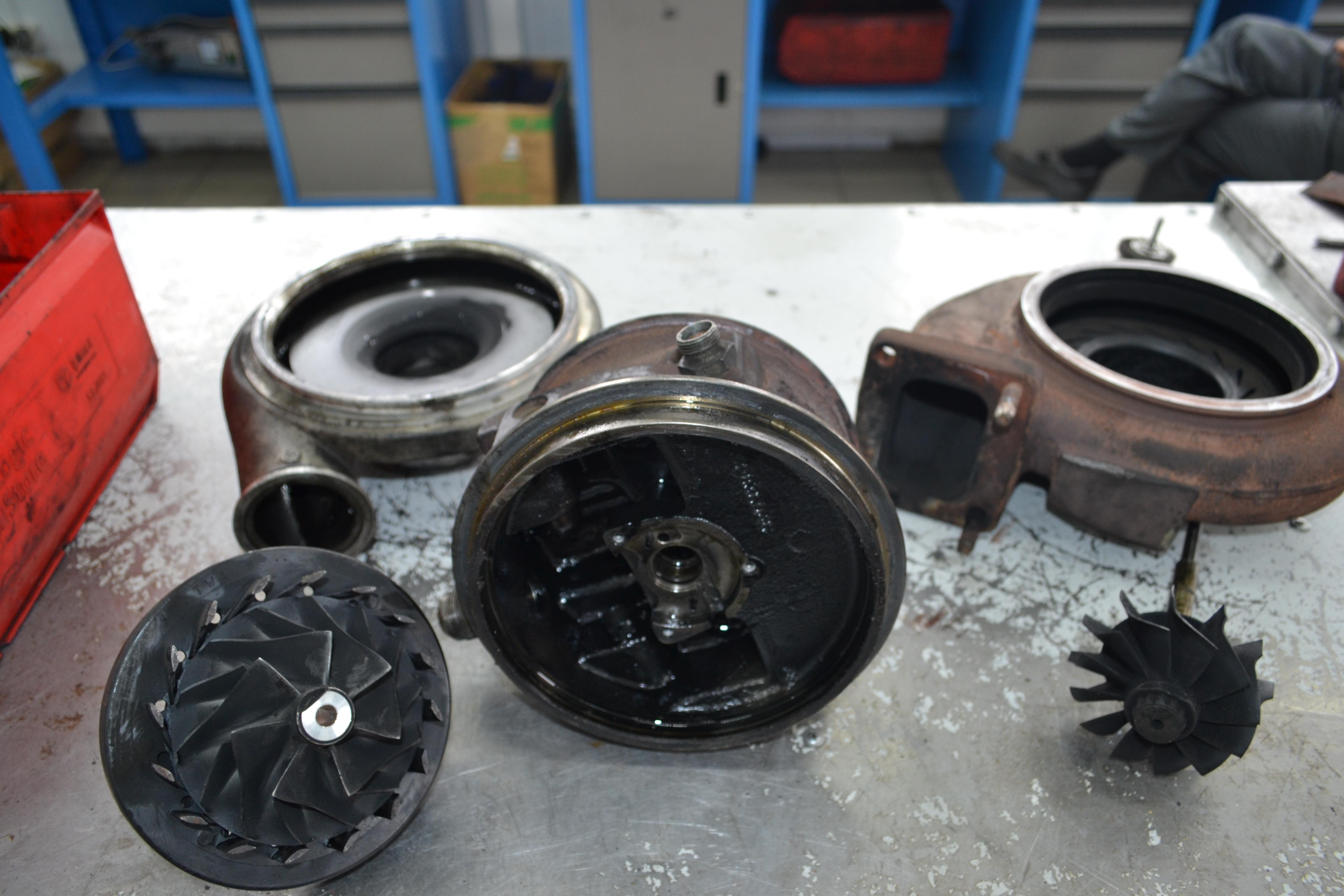 Iveco Cursor, ивеко курсор, ремонт турбины, 4046943