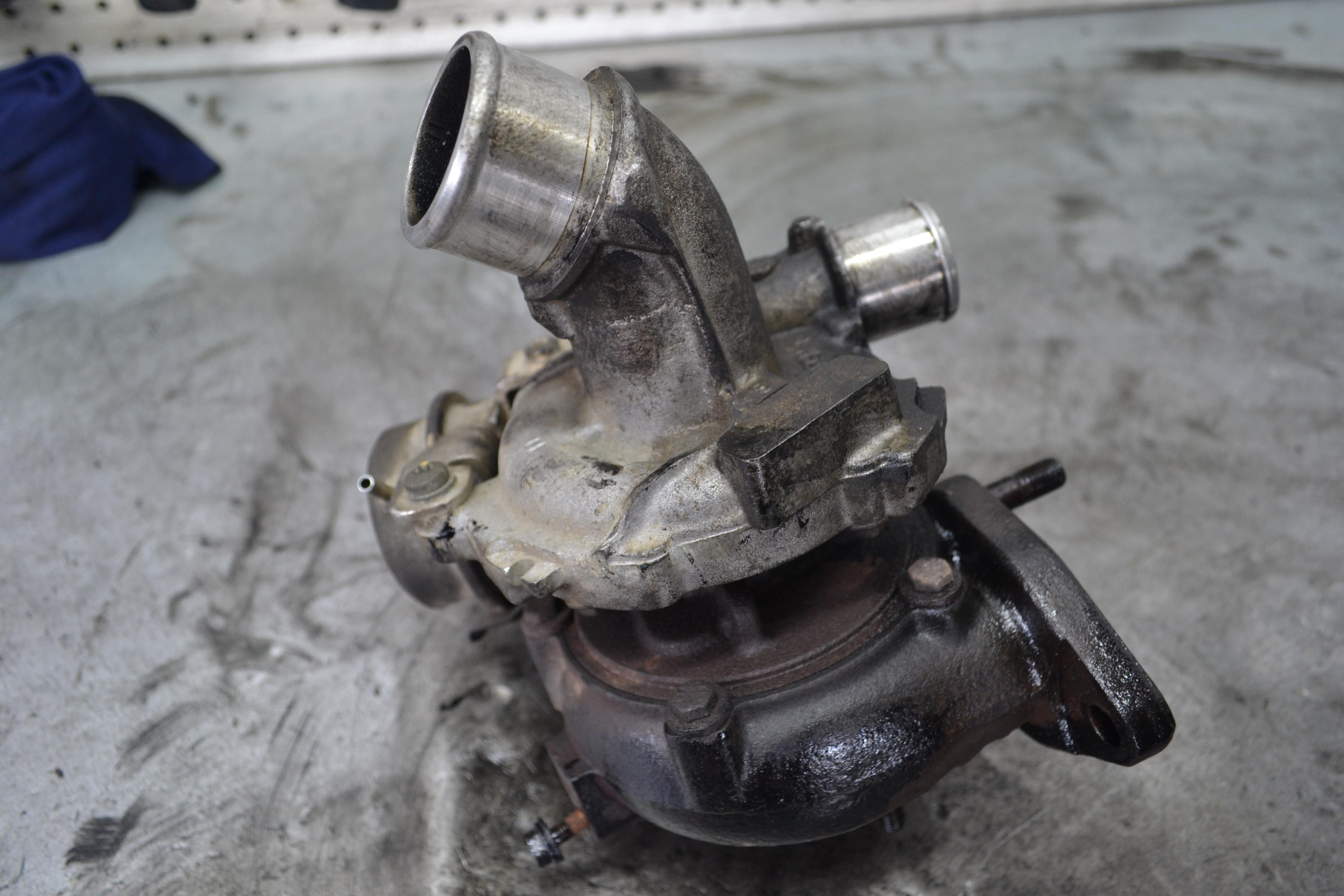 Toyota Corolla, тойота королла, ремонт турбины, 758870-0001