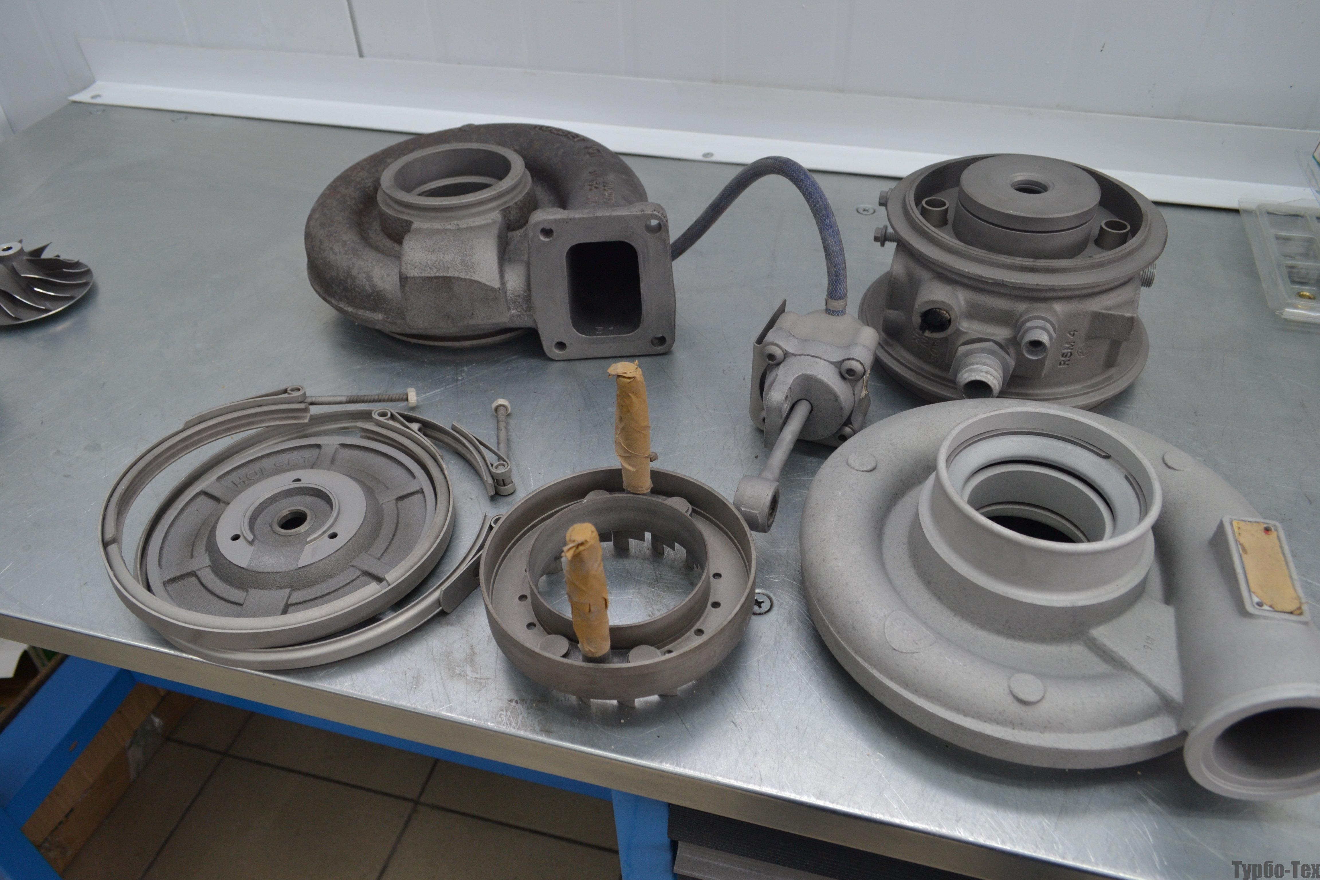Iveco Stralis, стралис, ремонт турбины, 2998328
