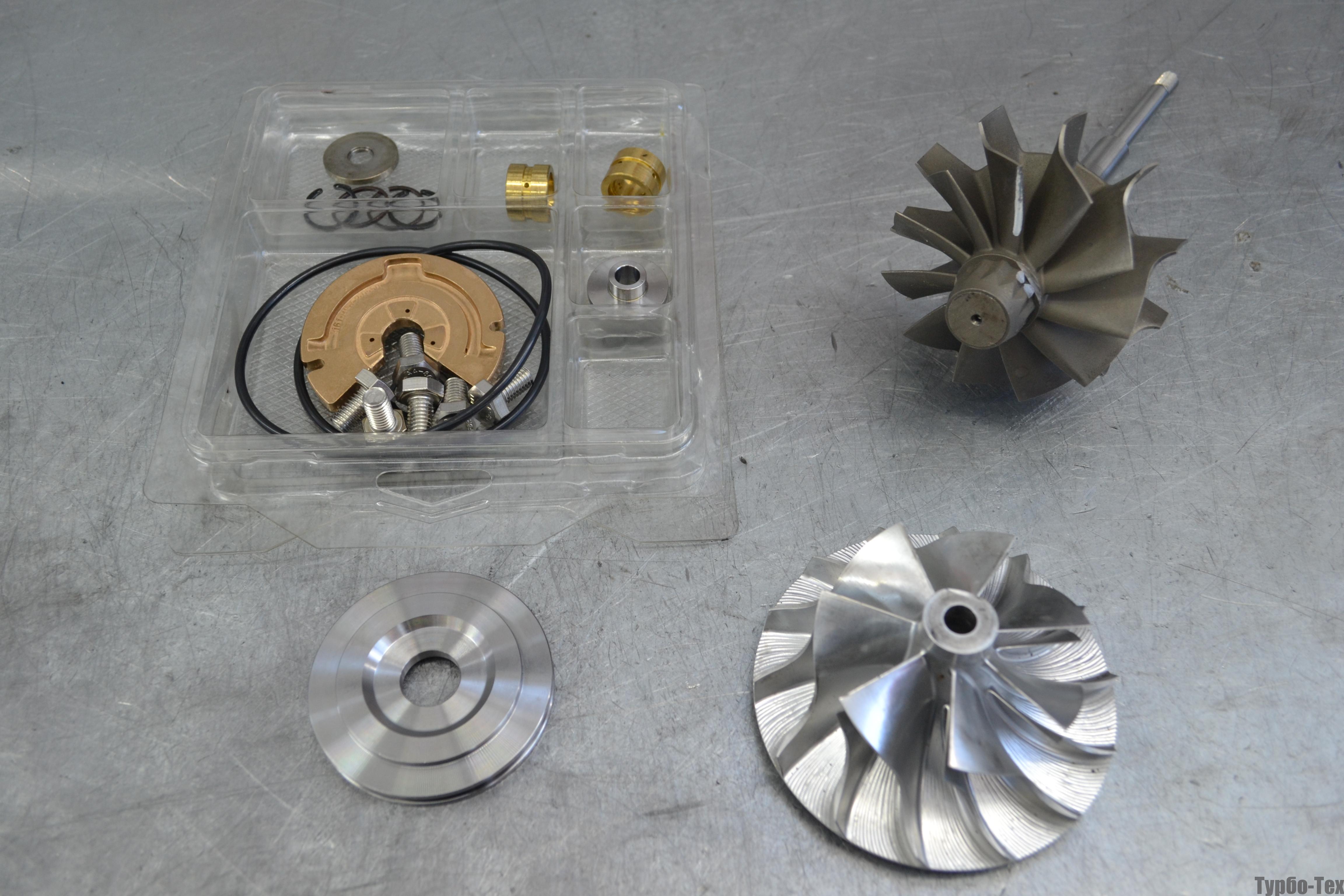 MAN TGA, ман тга, ремонт турбины, 5331-971-6910