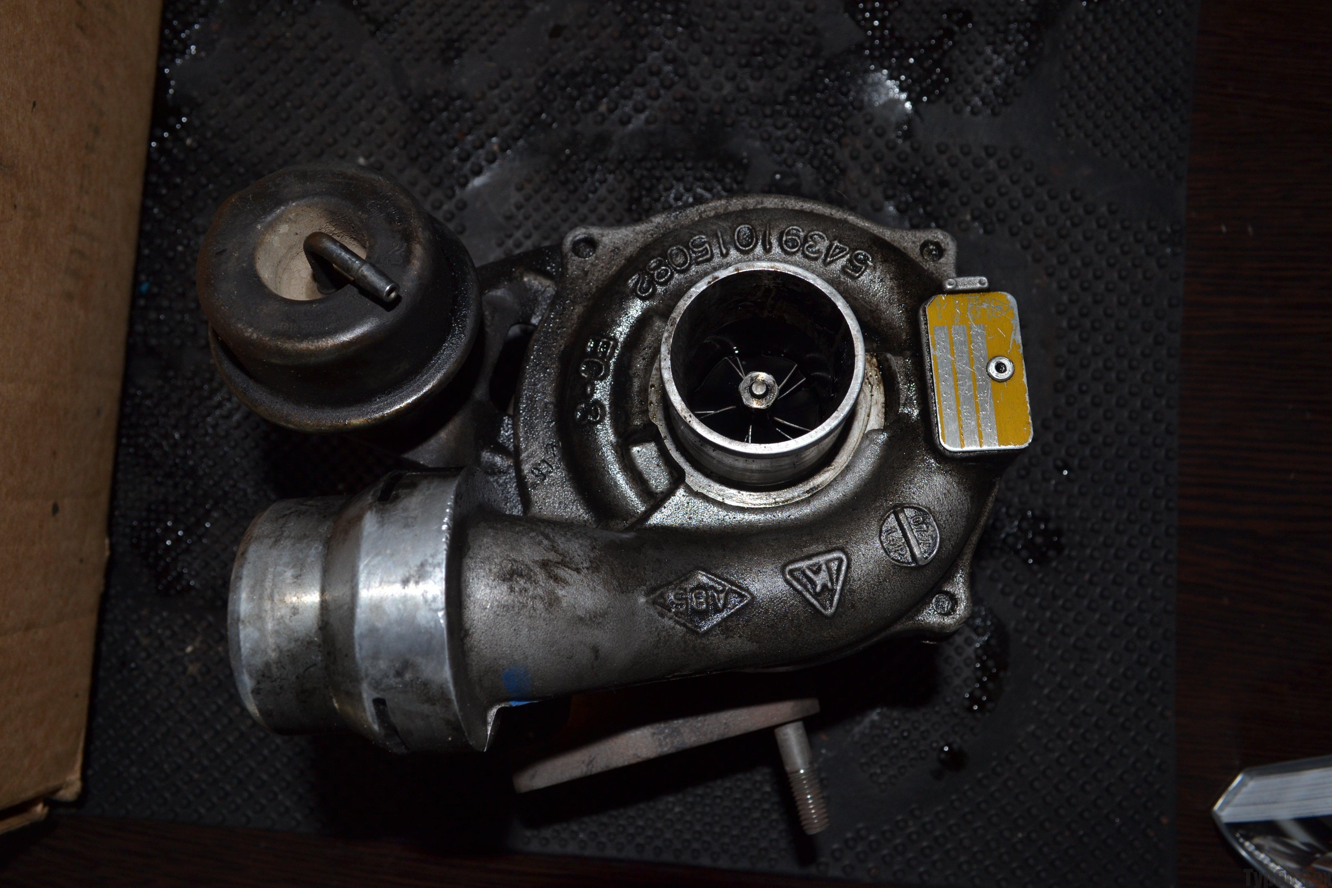 Renault Megan, рено меган, ремонт турбины, 5435-970-0012