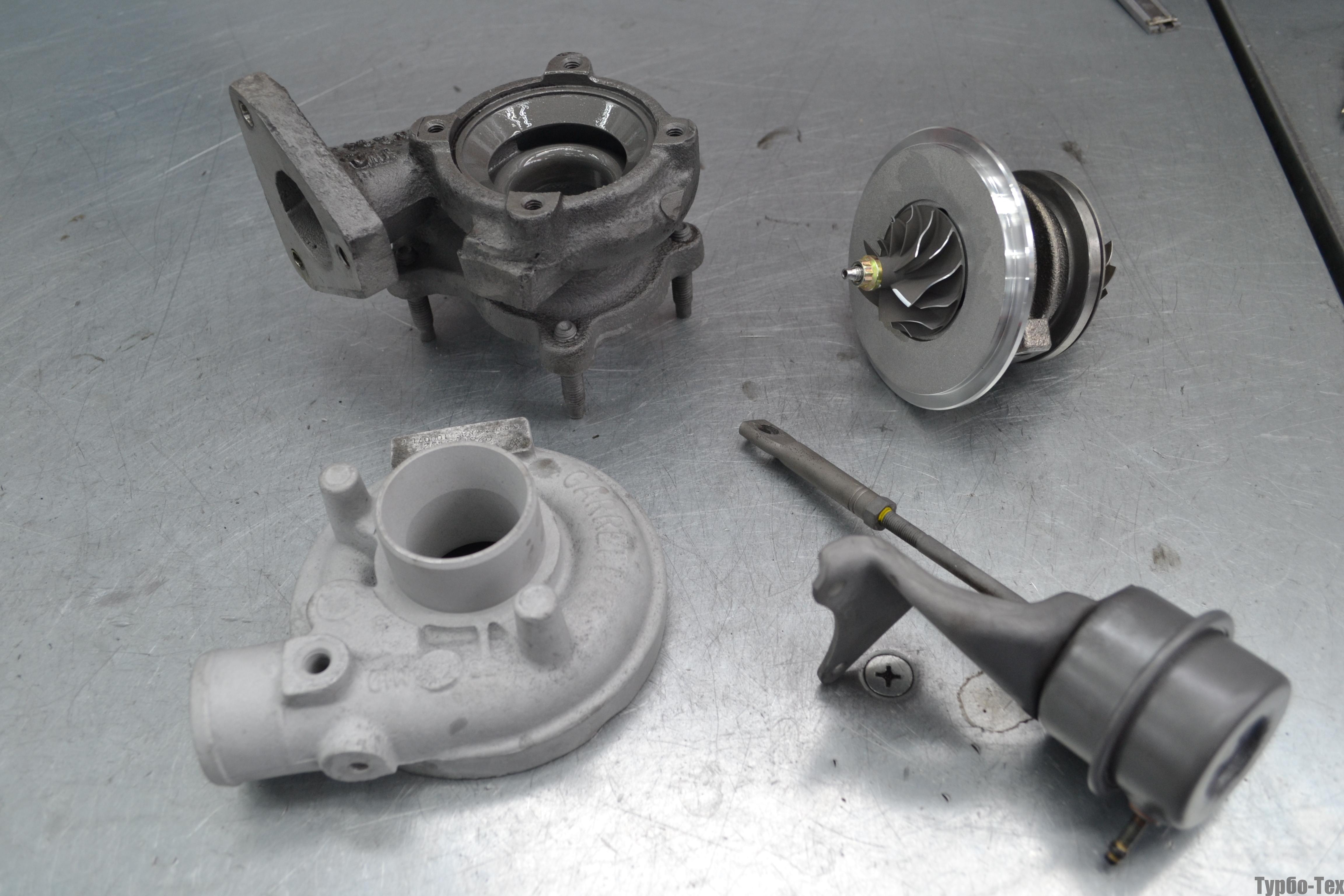Volkswagen B5, фольц б5, ремонт турбины, 454097-0002