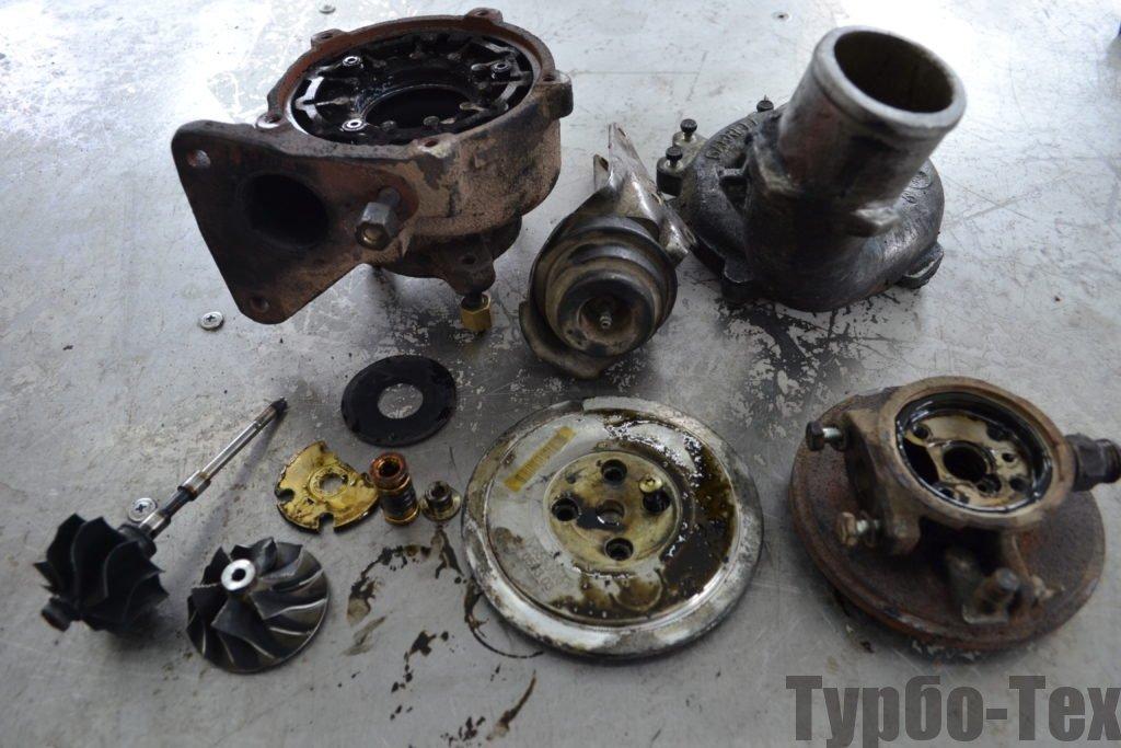 Renault Laguna 2, рено лагуна, ремонт турбины, 708639-0010