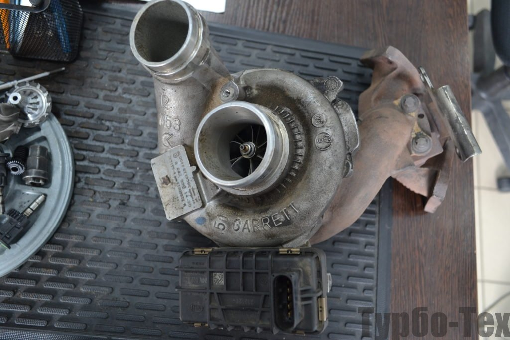 Mercedes ML, мерседес мл, ремонт турбины, 765155-0004
