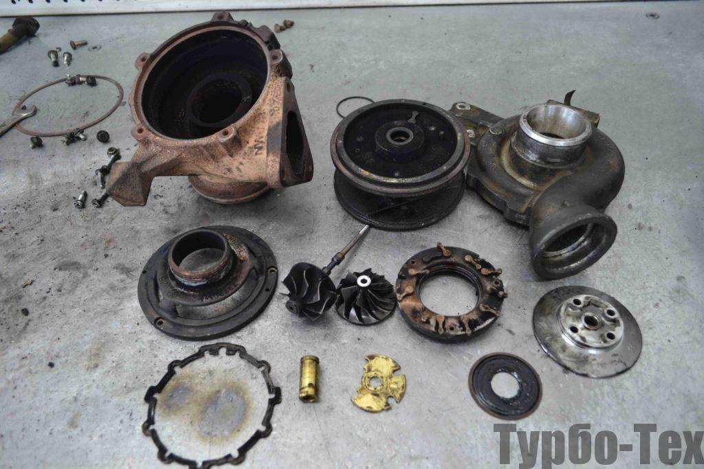 Mercedes Sprinter, мерседес спринтер, ремонт турбины, 759688-0005