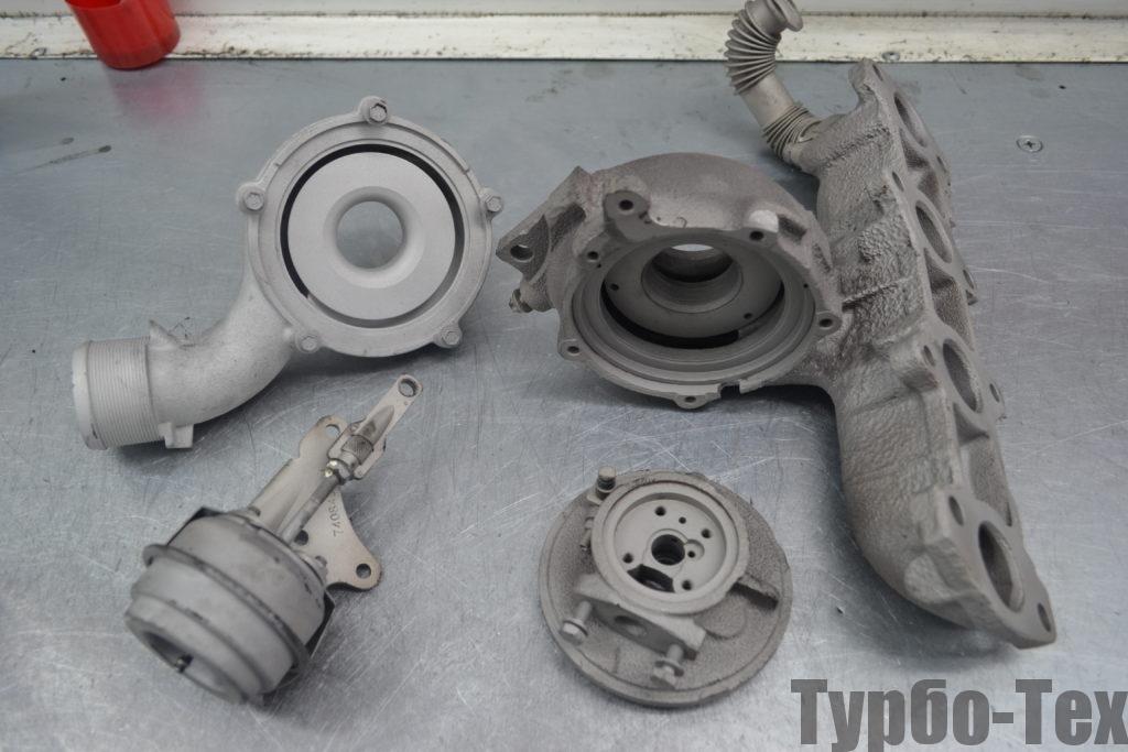 Opel Zafira, опель зафира, ремонт турбины, 767835-0001
