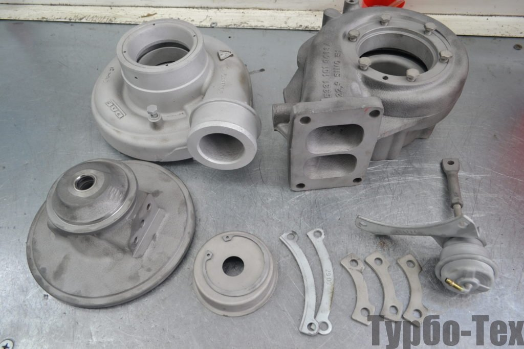 DAF XF 95, даф 95, ремонт турбины, 5331-970-7135