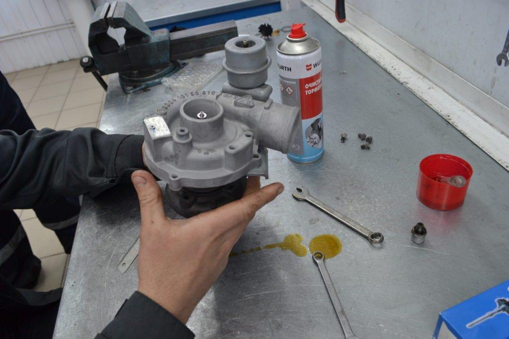 Этапы и способы ремонта турбокомпрессоров