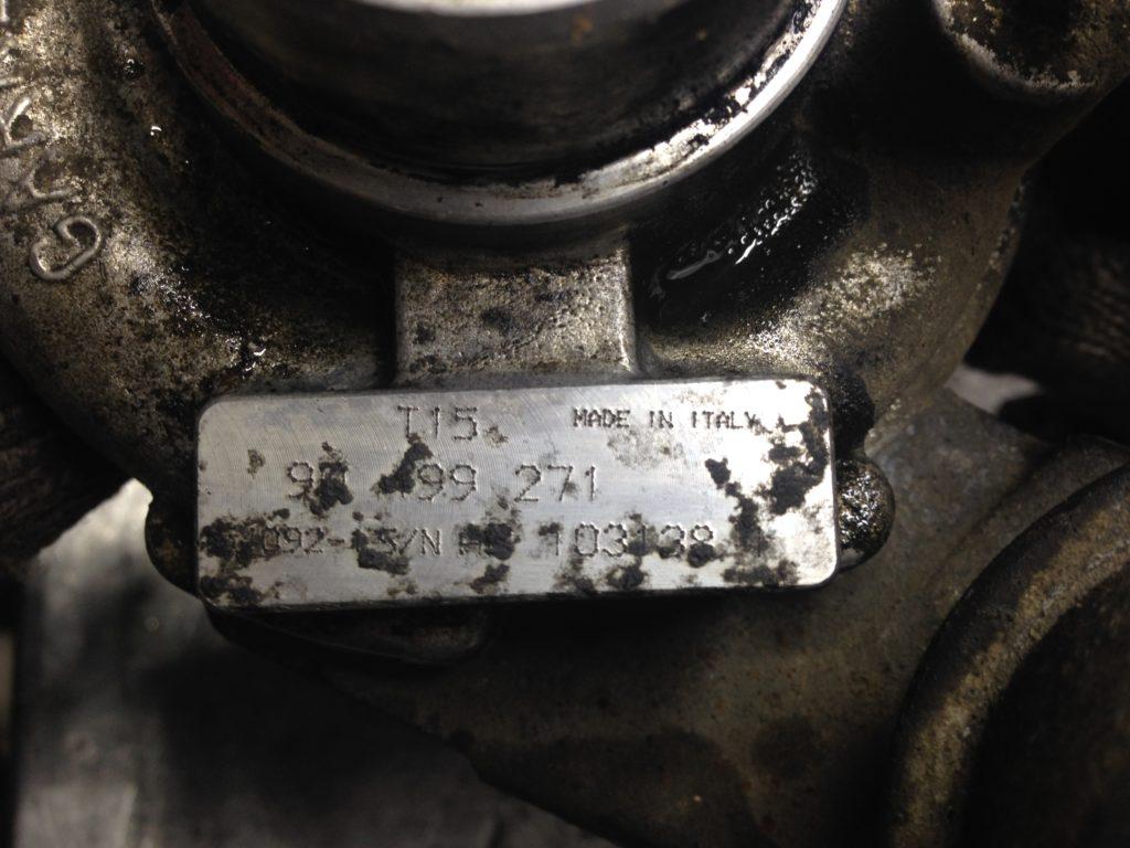 ремонт, турбина, турбокомпрессор, opel astra f, опель астра, 454092-0001