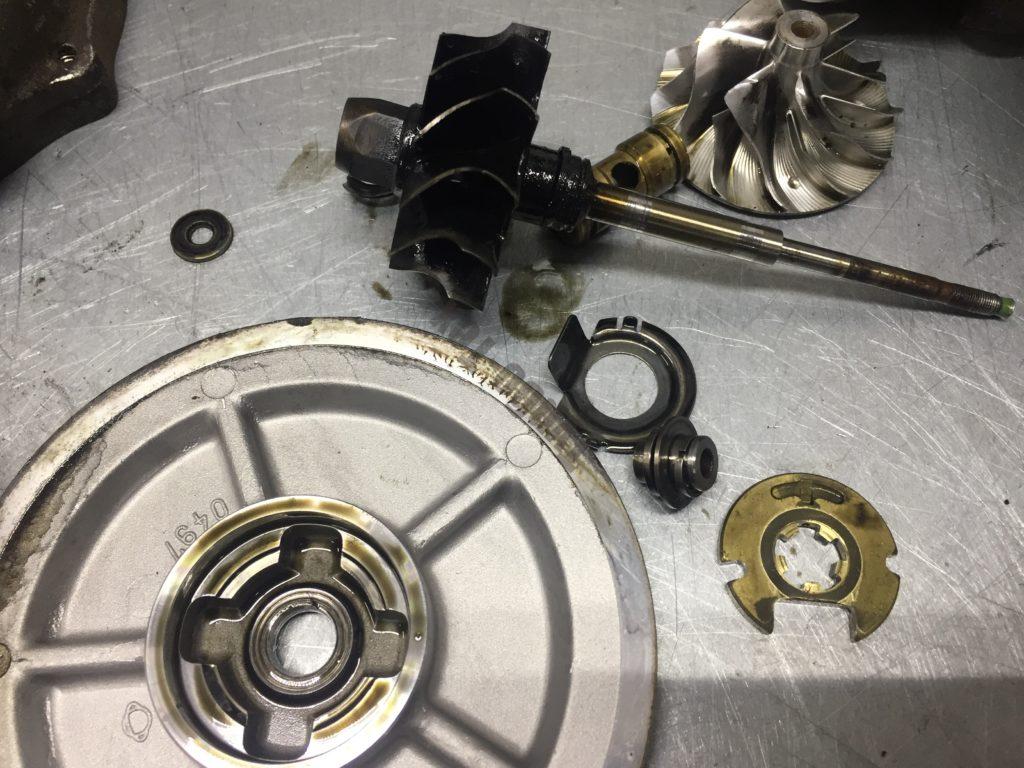 Mercedes Sprinter, мересед спринтер, 5439-970-0049/5304-970-0057, ремонт турбины, ремонт турбокомпрессора, Москва