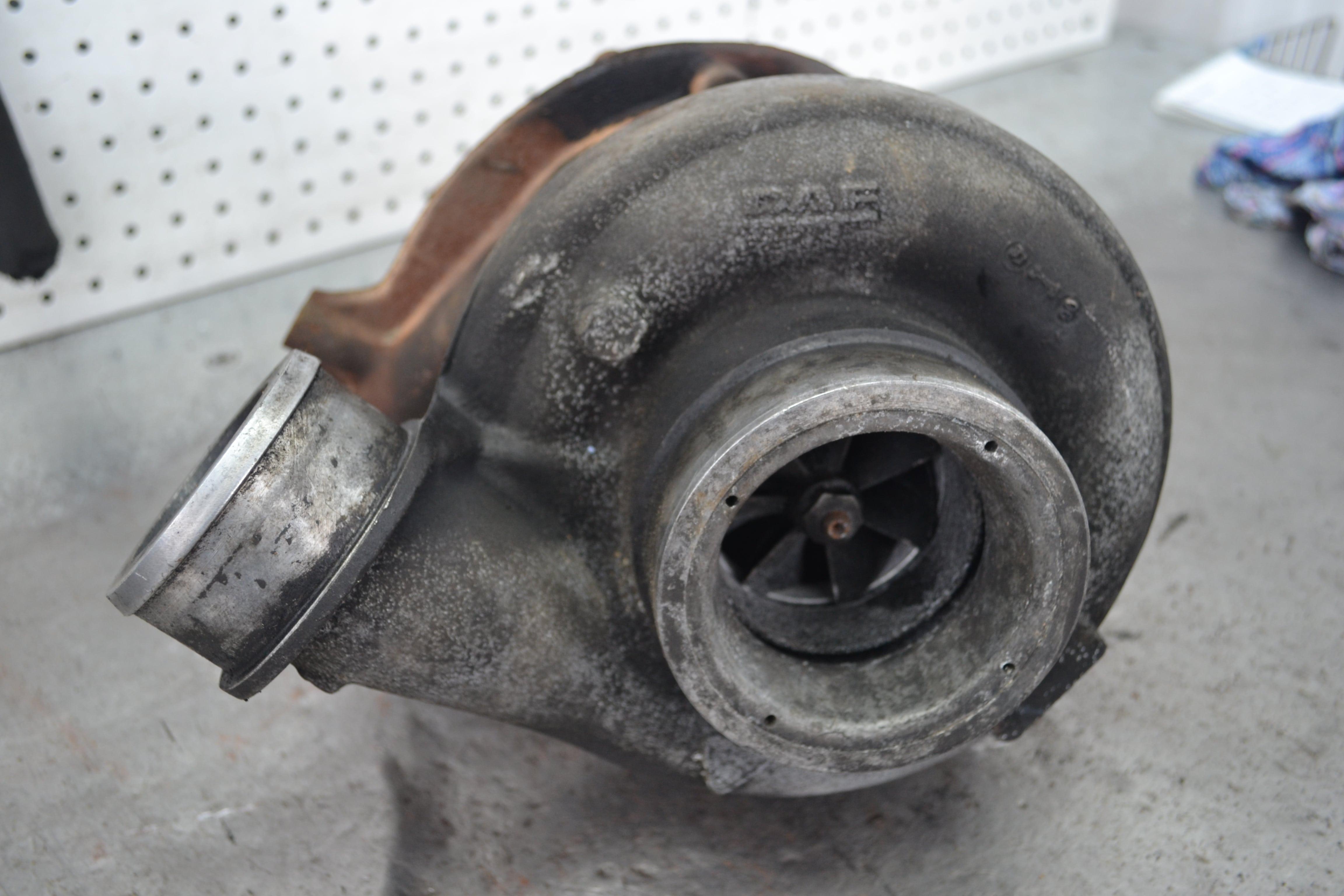 ремонт турбины DAF XF 95