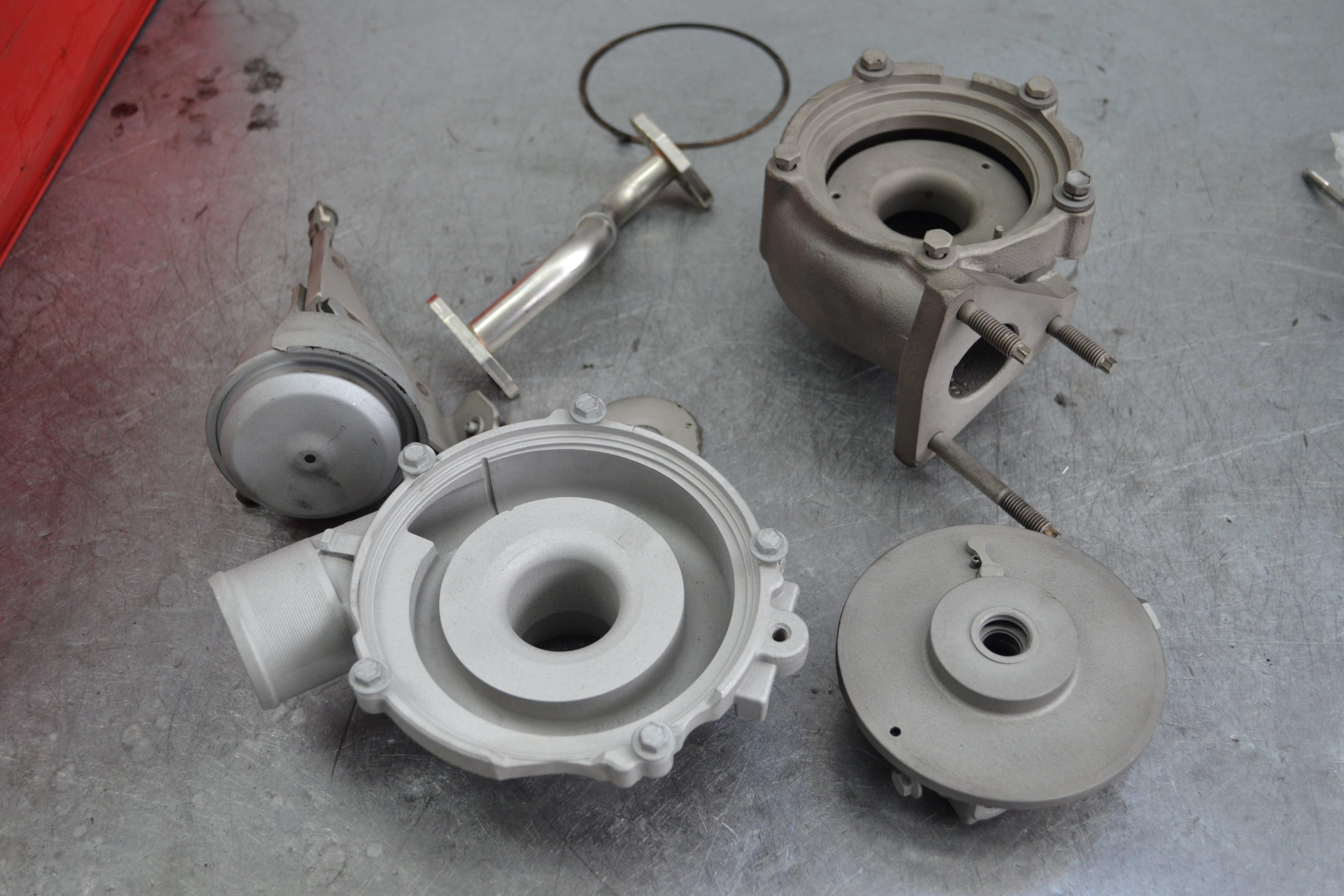 Ремонт турбины Renault Scenic II 1.9