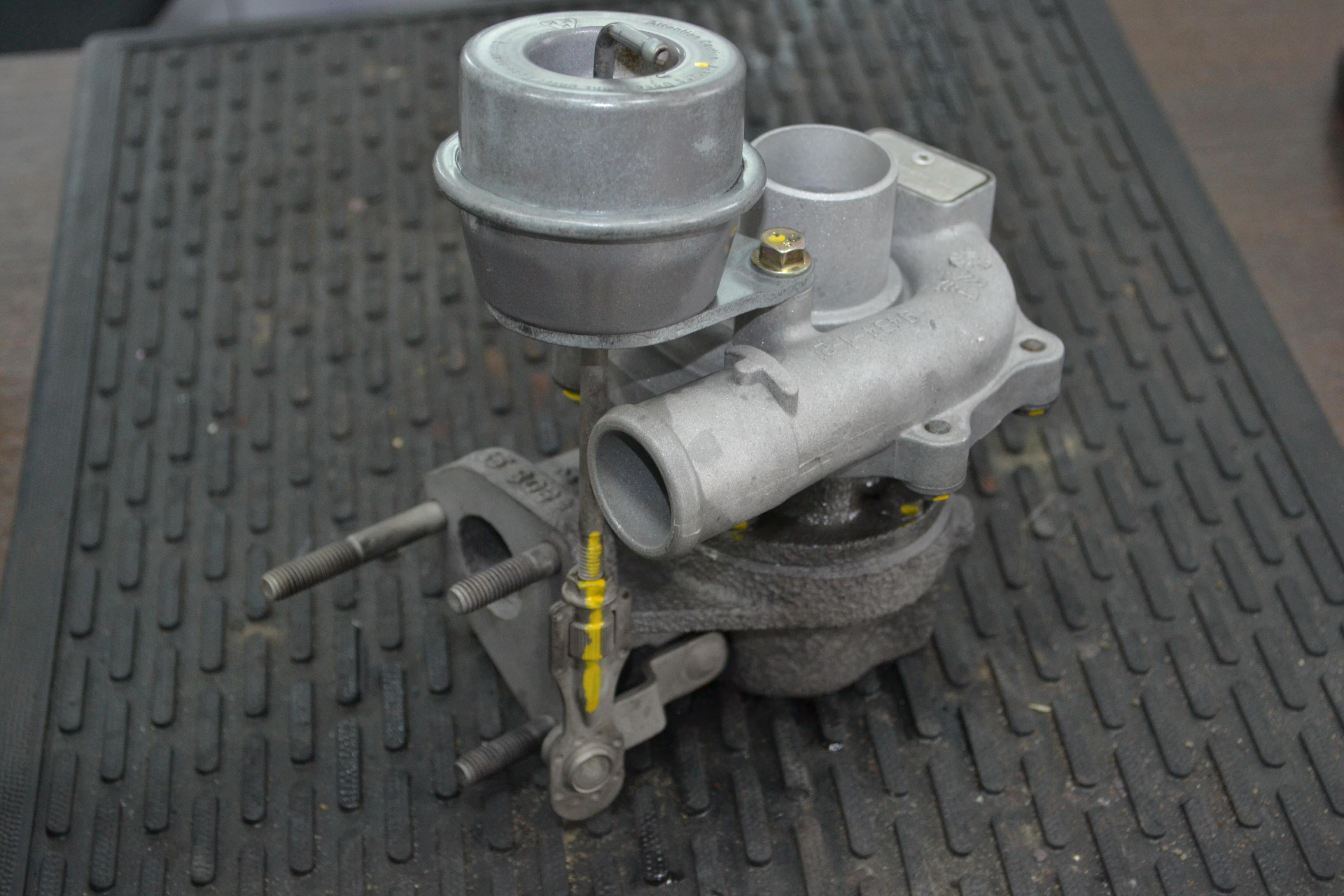 Ремонт турбины Opel Combo