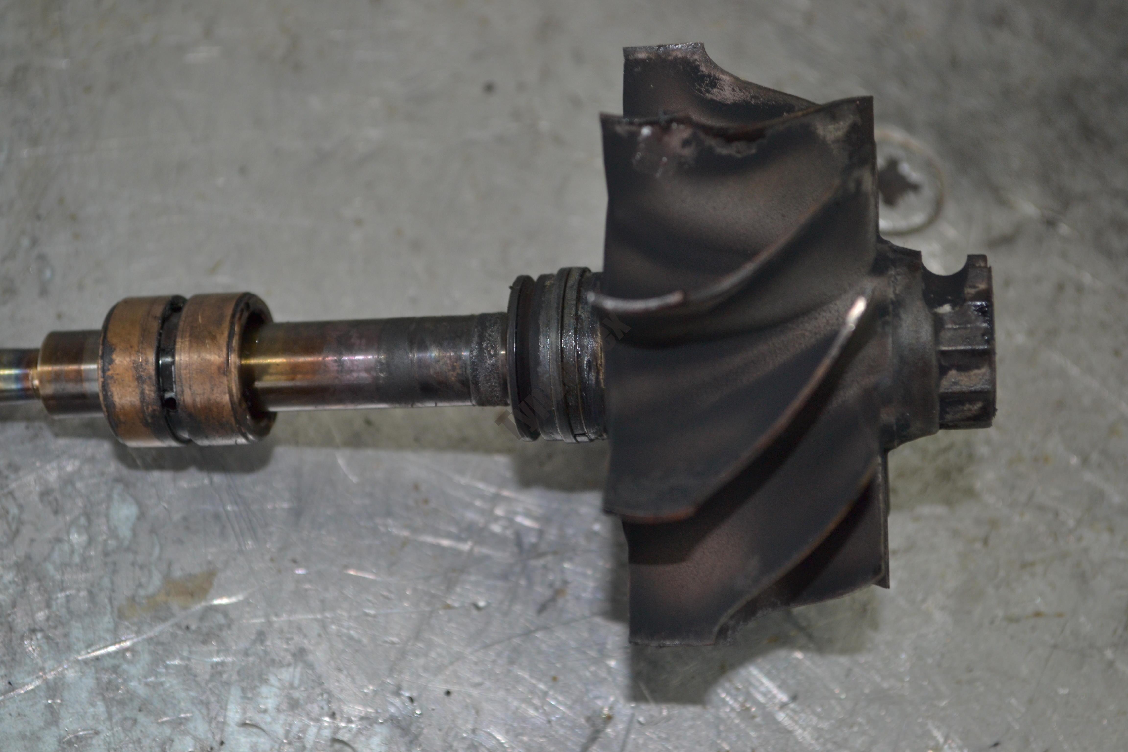 Ремонт турбины МАЗ 6312