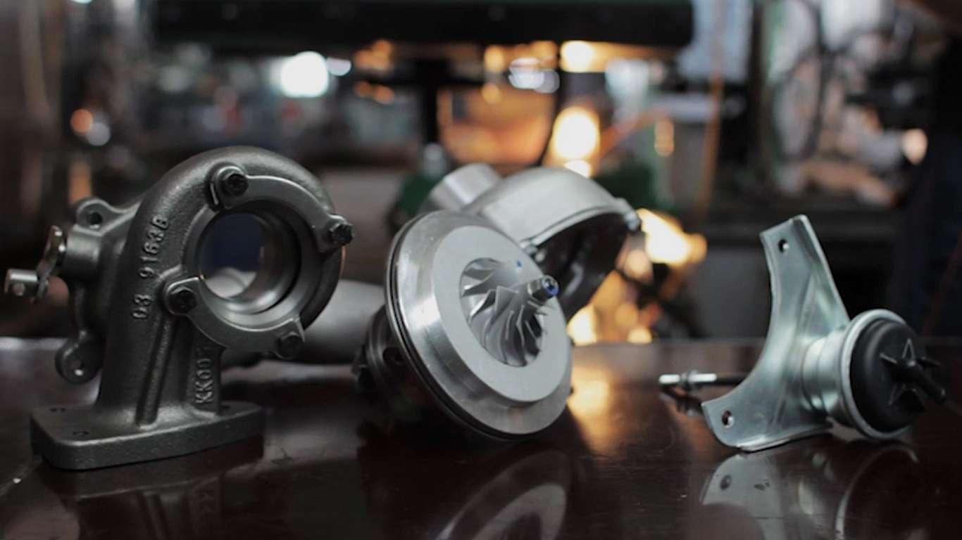 Ремонт турбин дизельных двигателей