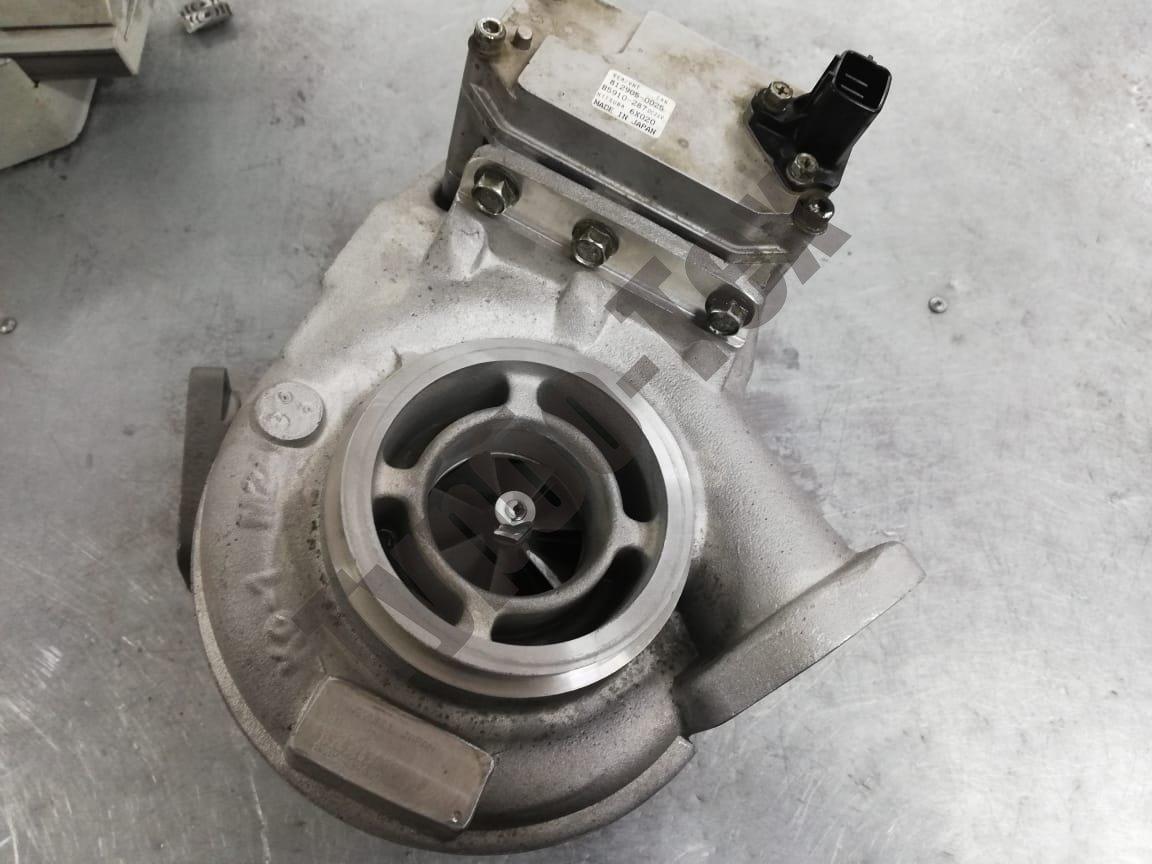 Ремонт турбины ISUZU NQR75